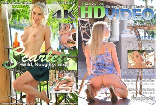 FTV Scarlett –  Wild , Naughty, Sexy- Shes A Sex Magnet 21.10.13