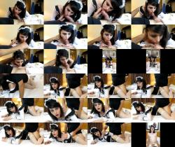 TS French Maid Trained DOGGY STYLE with Shemale Nyxi Leon 1080p 594,33 Mb