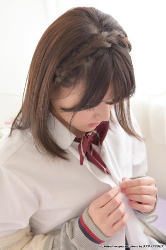 [LOVEPOP] Tsubasa Haduki 葉月つばさ Uniform hoodie 爽やか元気な制服スタイルがお似合い?制服パーカー Photo (gset0062_4k)  PPV 3781