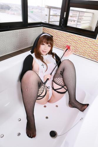 [Cosplay] [Higurashi Kikaku (Rin Higurashi)] Do you regret it (Nun) [530P1.12GB]