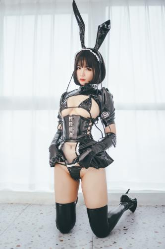 [Cosplay] Xansoon 轩萧学姐 – Bunny girl maid 兔女郎女仆