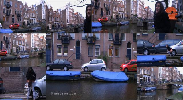 NeedAPee.com 187_-_Rebekah_-_Amsterdam_Canal_Pee